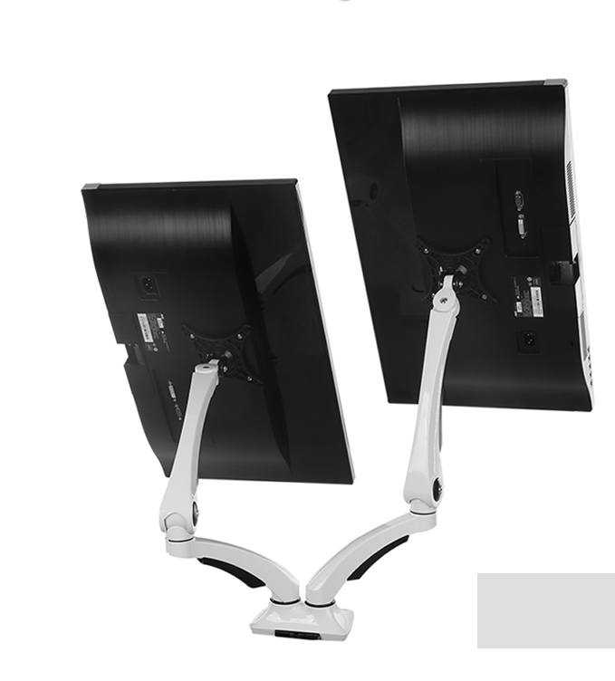 Adjustable Friction Dual Monitor Arm 2LE