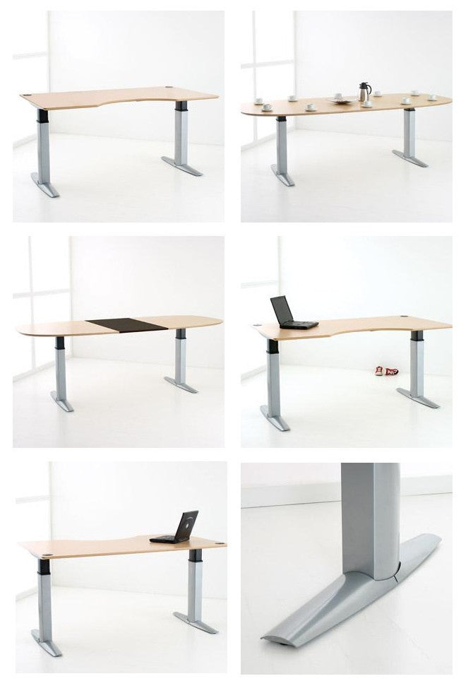 Conset Ultra Powerfull Desk with 200 kg weight capacity (501-23)