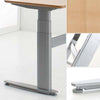 Premium Sit Stand Electric Table (Conset Denmark Make) Model 501-27 with Table Top