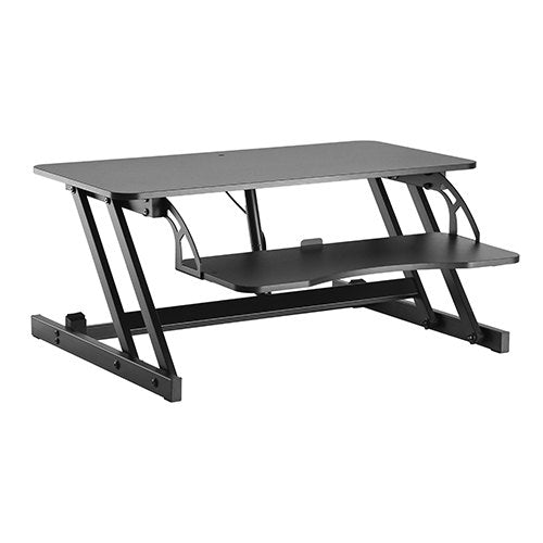 Budget Gas Spring Z-Lift Sit-Stand Workstation RT