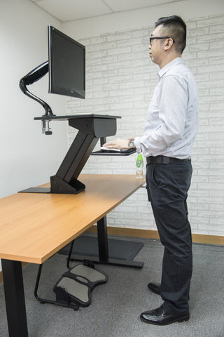 Riser Desk RD (Pneumatic Gas Lift Desk)
