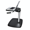 Ergonomic Sit to Stand Laptop Stand Riser, Ergonomic Aluminum Adjustable Height Stand for Laptop, Printer Riser Stand, (LSP7)