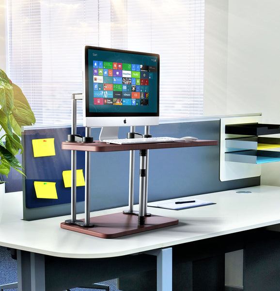 Sit Stand Conversion Desks