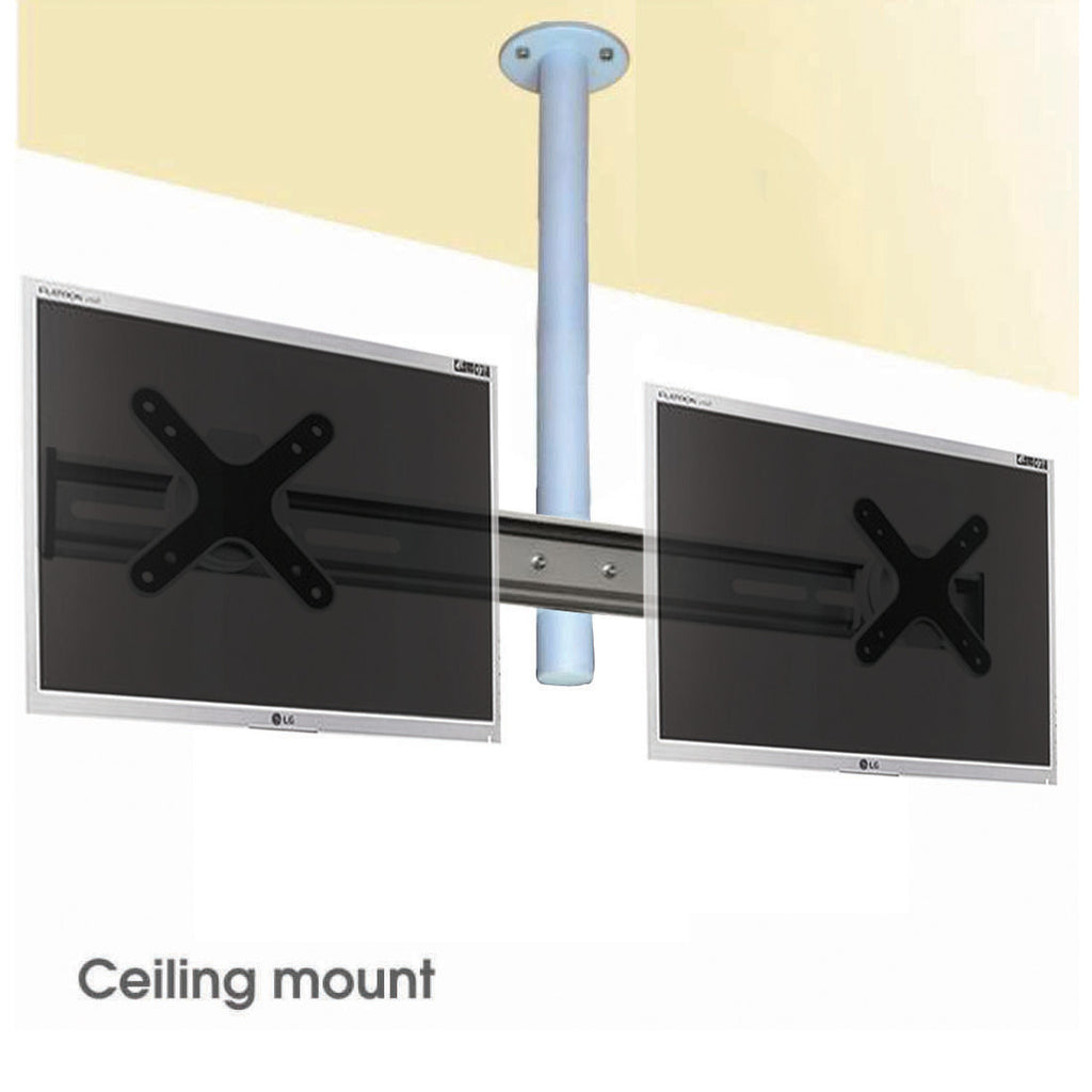 Adjustable Dual Monitor Ceiling Mount (CM-SD)