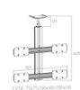LCD TV Ceiling Mount CM 1204