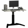 Single Leg Electric Table Standing desk (with Table Top)