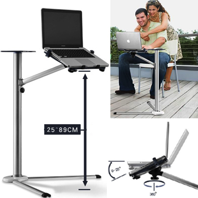 Foldable Laptop Floor Stand FLS