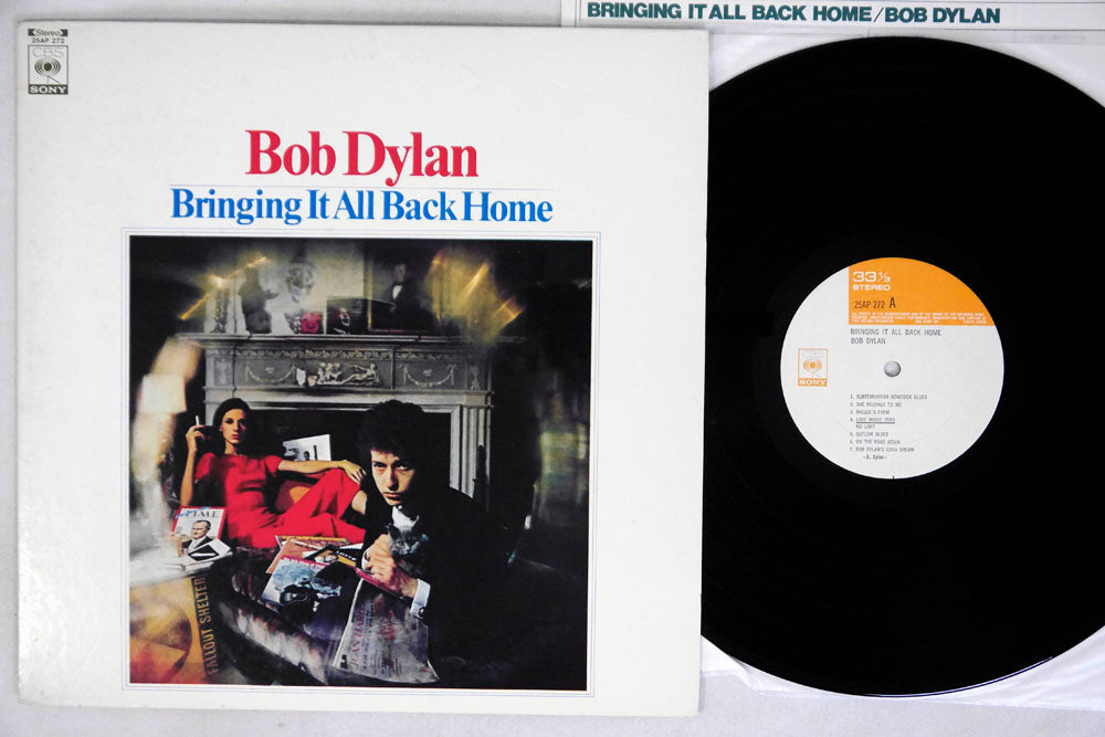 BOB DYLAN - BRINGING IT ALL BACK HOME - LP