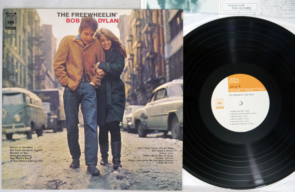 BOB DYLAN - FREEWH'EELIN - LP