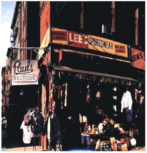 Beastie Boys - Paul's Boutique LP - 1
