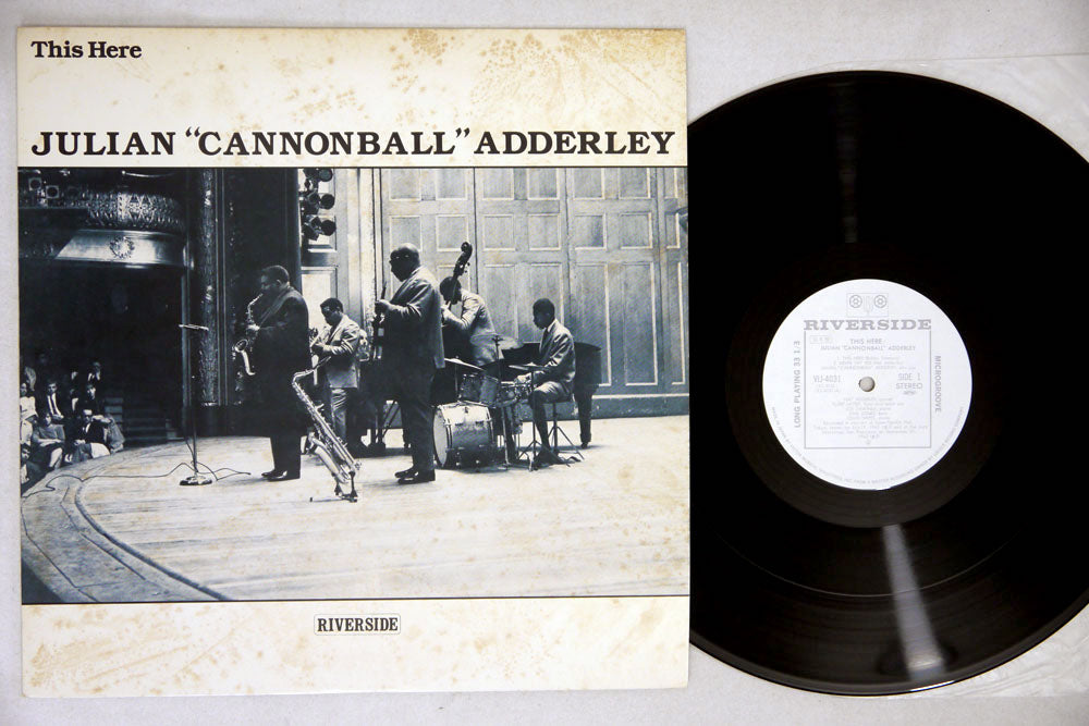 JULIAN CANNONBALL ADDERLEY - THIS HERE - LP