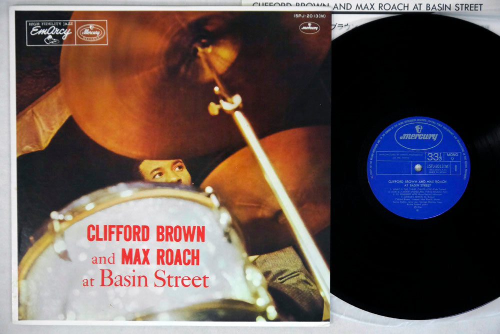 CLIFFORD BROWN & MAX ROACH - AT BASIN STREET - LP