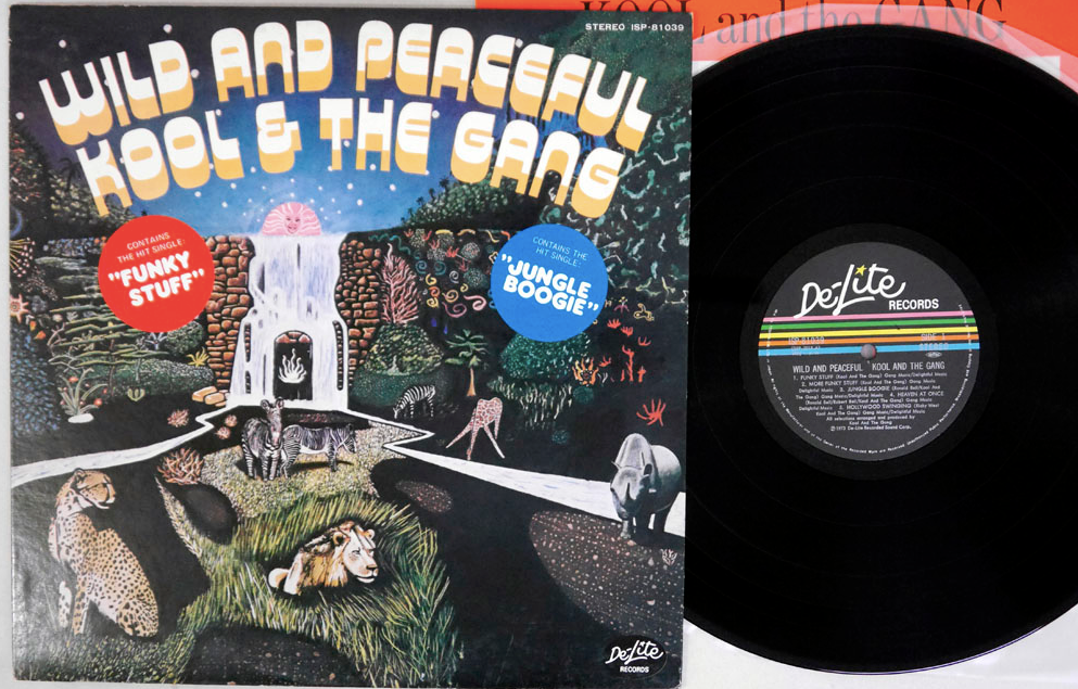 Kool & The Gang - Wild and Peaceful - LP