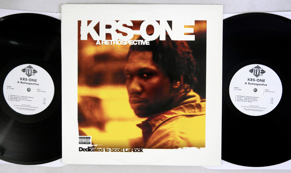 KRS-ONE - RETROSPECTIVE - 2LP