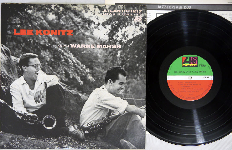 LEE KONITZ with WARNE MARSH - LP