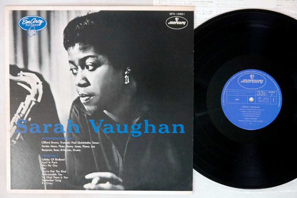 SARAH VAUGHAN - Self-Titled - Mono LP
