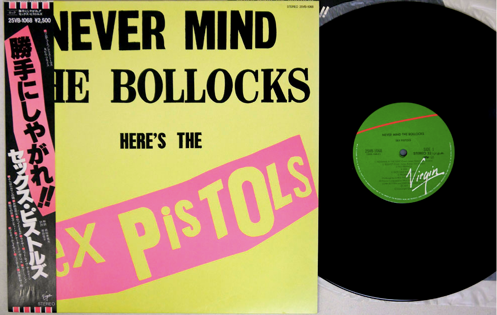 SEX PISTOLS - NEVER MIND THE BOLLOCKS - LP