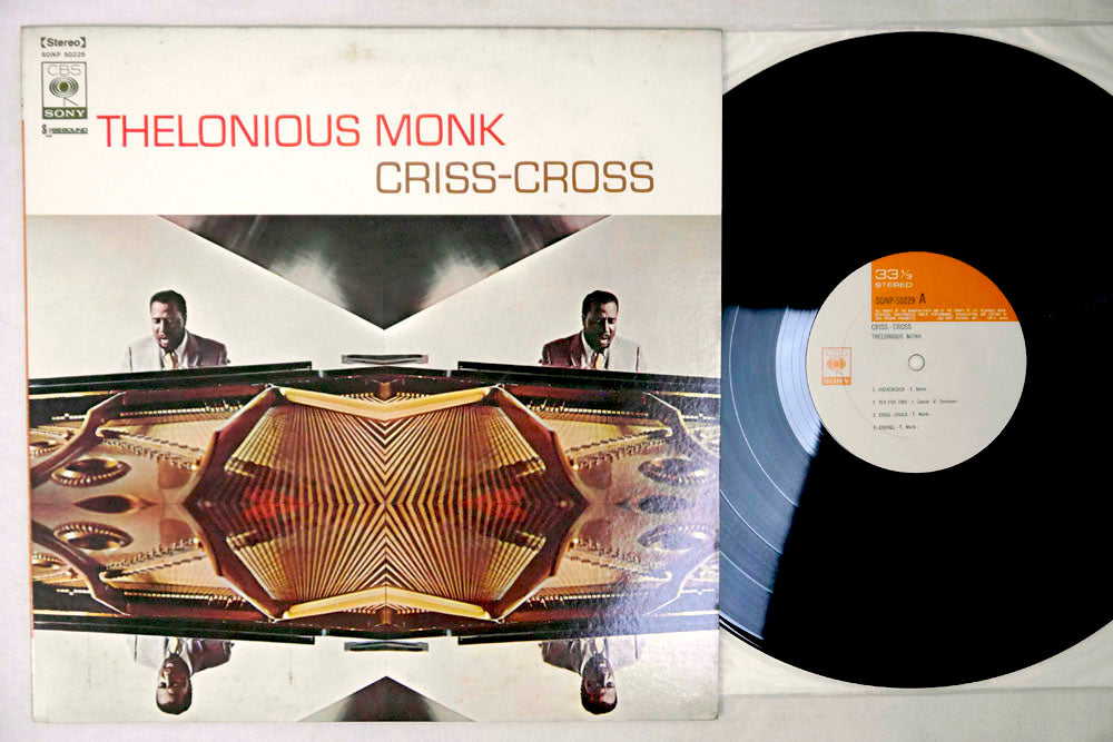 THELONIOUS MONK - CRISS-CROSS - LP