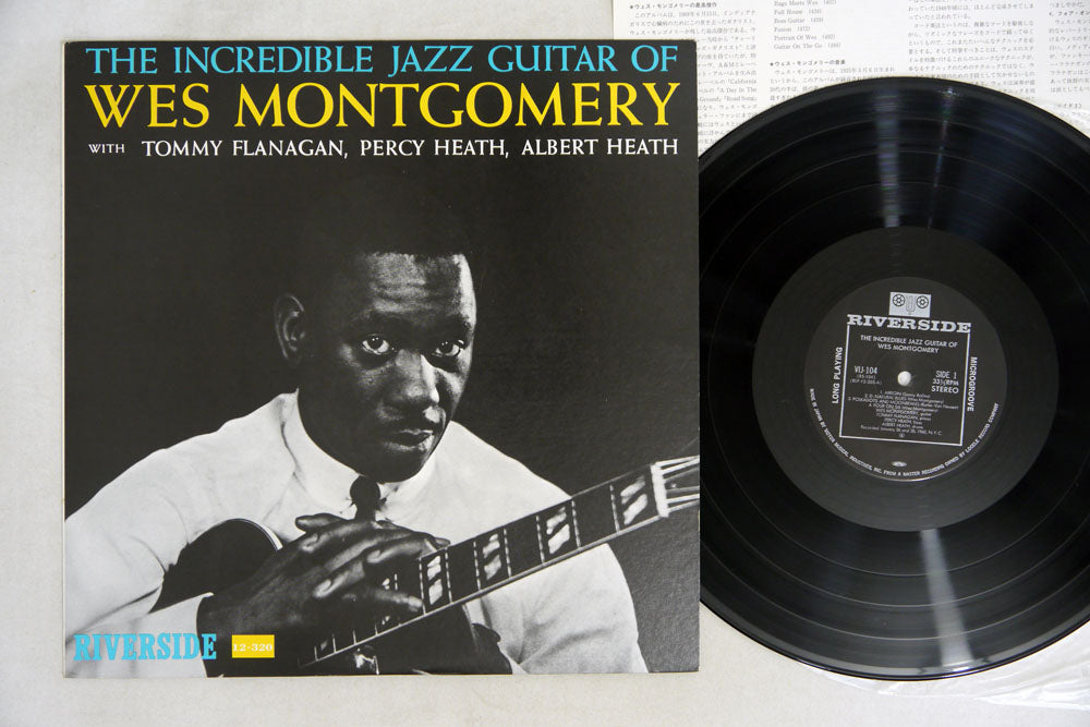 WES MONTGOMERY - INCREDIBLE JAZZ GUITAR OF - LP