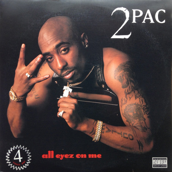2Pac - All Eyez on Me - new LP