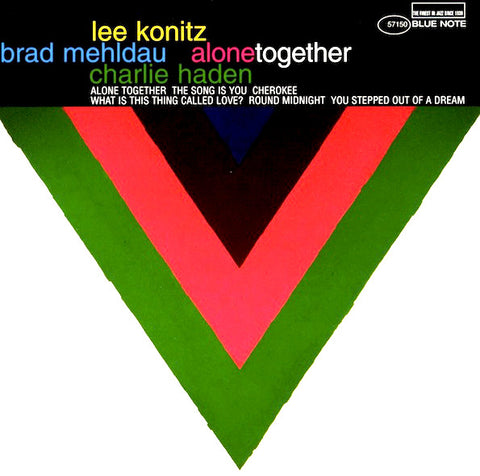 Lee Konitz, Brad Mehldau, Charlie Haden - Alone Together - vinyle neuf - 2LP