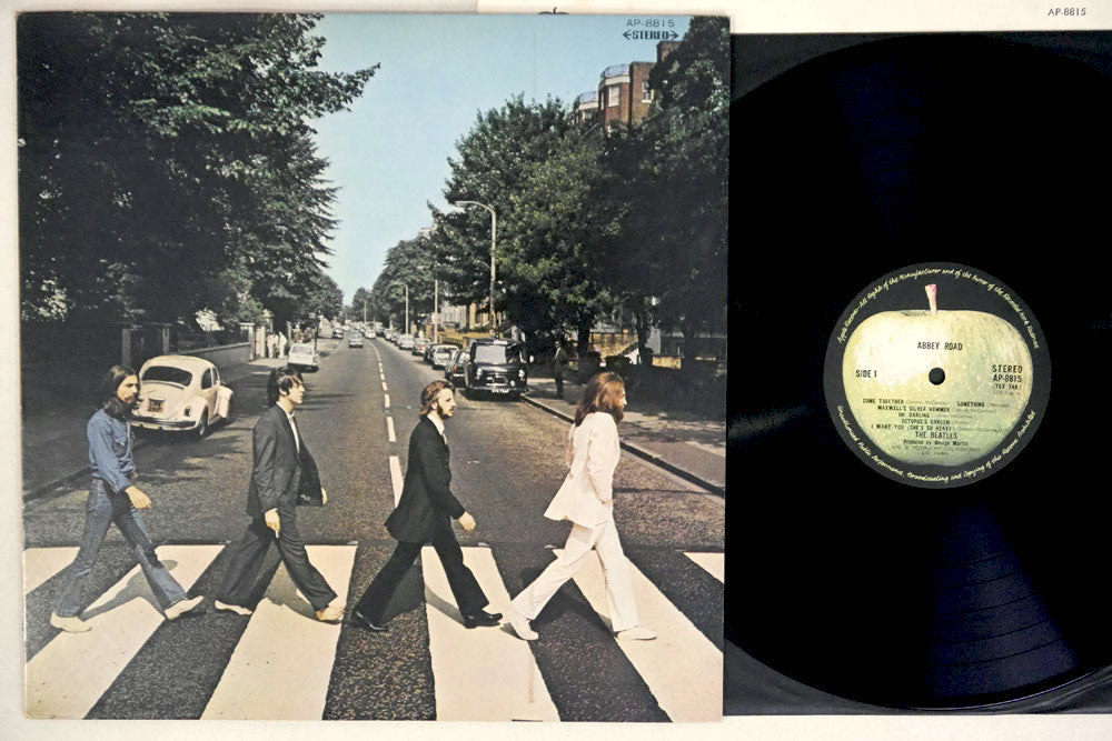 The BEATLES - ABBEY ROAD - 1969 1st Japanese pressing, used LP