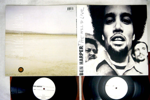 BEN HARPER - THE WILL TO LIVE - 1st UK pressing, used 2LP