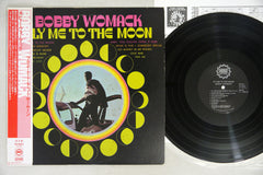 BOBBY WOMACK - FLY ME TO THE MOON - rare Japanese pressing, used LP