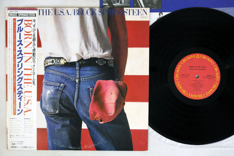 BRUCE SPRINGSTEEN - BORN IN THE U.S.A. - 1984 Japanese pressing, used LP