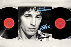 BRUCE SPRINGSTEEN - THE RIVER - 1980 Japanese pressing, used 2LP