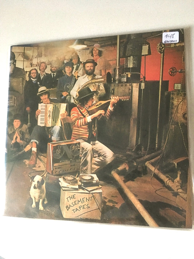 BOB DYLAN and THE BAND - The Basement Tapes - Édition Japonais / Japanese pressing, disque usagé / used LP