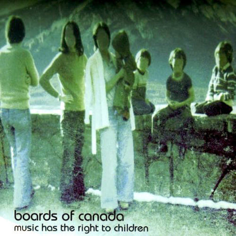 Boards of Canada - Music Has the Right to Children - new 2LP