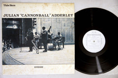 CANNONBALL ADDERLEY - THIS HERE - 1983 Japanese re-issue, used LP