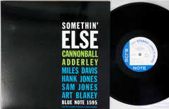 CANNONBALL ADDERLEY - SOMETHIN' ELSE - 1984 Japanese re-issue - used LP