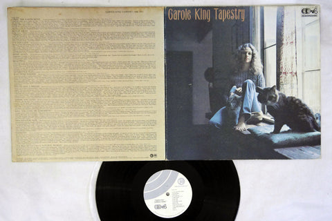 CAROLE KING - TAPESTRY - Japanese pressing, used LP