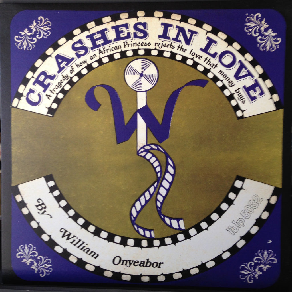 William Onyeabor - Crashes In Love - new LP (re-mixes, purple version)