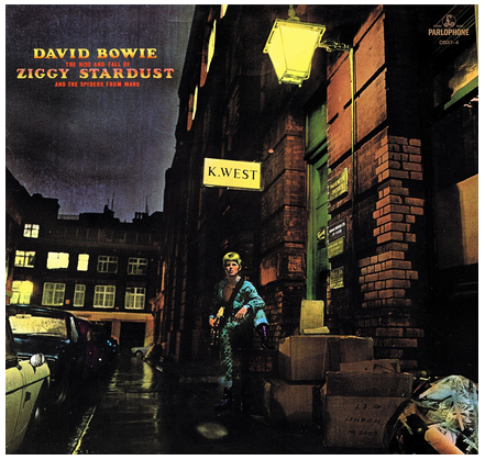 David Bowie - The Rise and Fall of Ziggy Stardust - ré-édition / new LP
