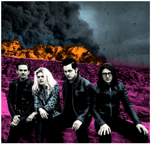 Dead Weather - Dodge and Burn - new LP