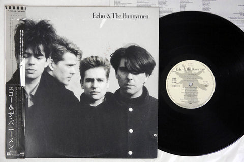 ECHO & THE BUNNYMEN - Self-Titled - 1987 1st Japanese pressing, used LP