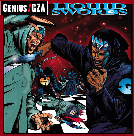 GZA - Liquid Swords - new 2LP