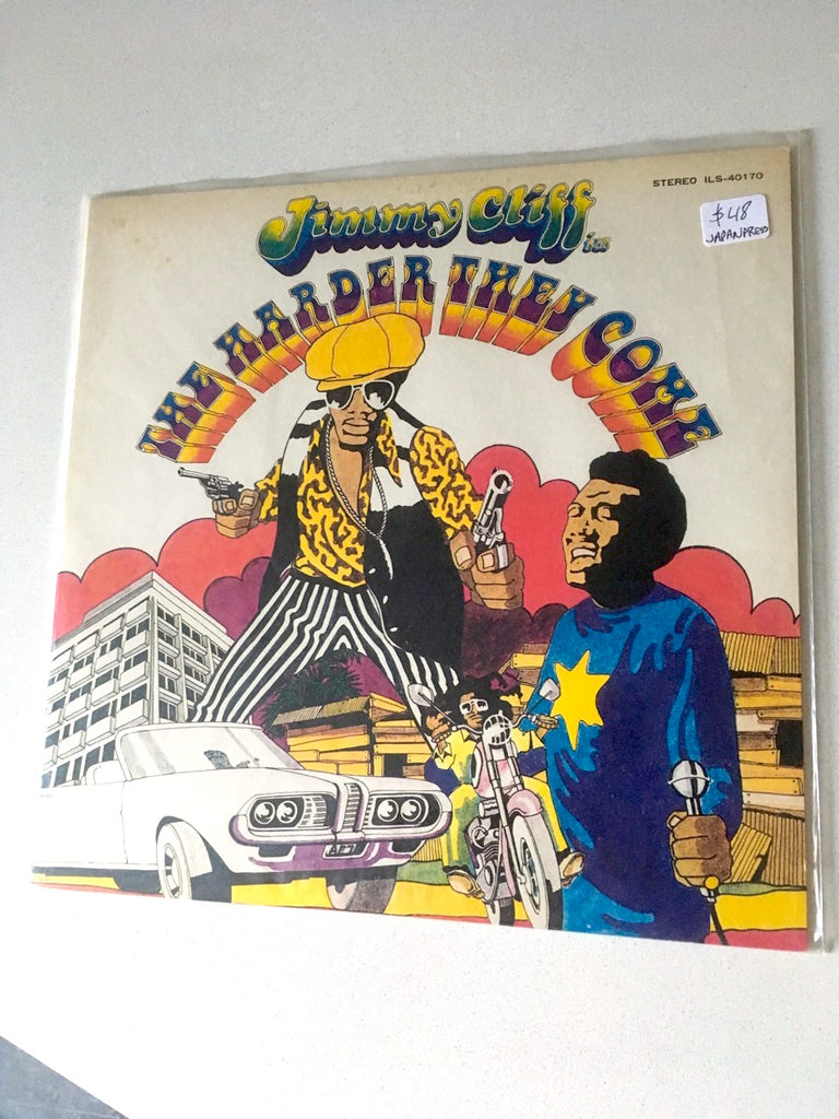 Various ‎– Jimmy Cliff - The Harder They Come (Original Soundtrack Recording) - Édition Japonais / Japanese pressing, disque usagé / used LP