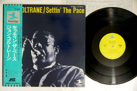JOHN COLTRANE - SETTIN' THE PACE - Japanese pressing, used LP