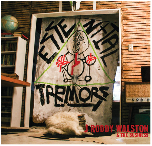 "J Roddy Walston - Essential Tremors - new LP (w/bonus 7"")"
