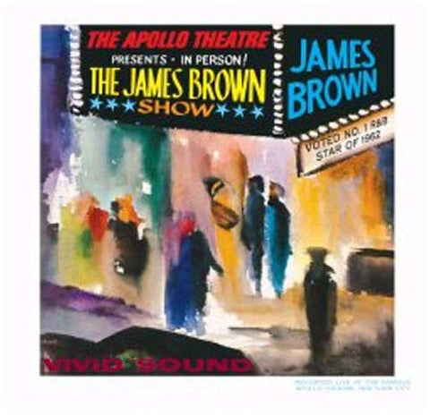 James Brown - Live at the Apollo, 1962 - new LP