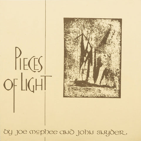 Joe Mcphee and John Snyder - Pieces of Light - new LP