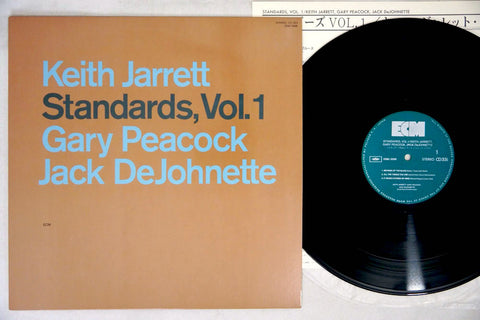 KEITH JARRETT TRIO - STANDARDS, VOL.1 -  Japanese pressing, used LP
