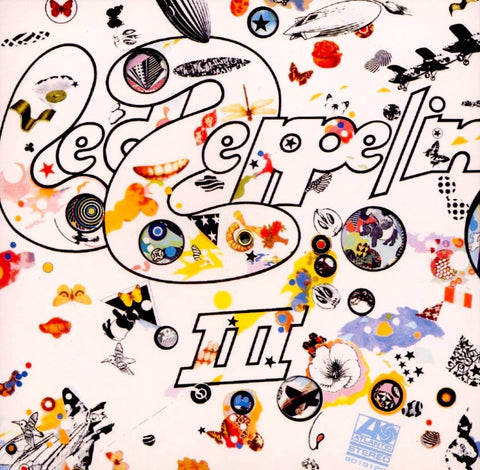 Led Zeppelin - III (RM, 180G) - new LP