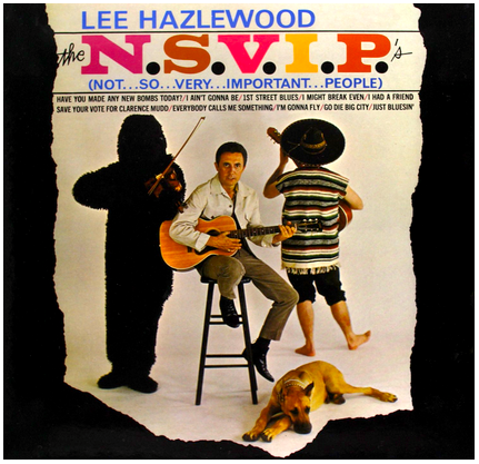Lee Hazlewood - N.S.V.I.P.'s - new LP