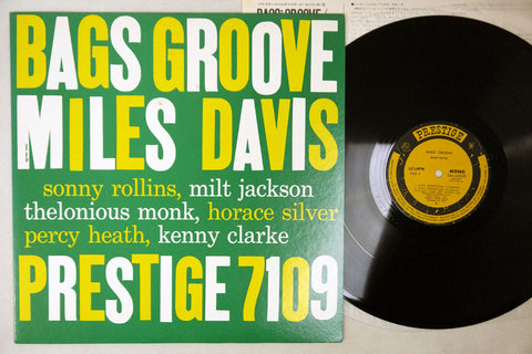 MILES DAVIS - BAGS' GROOVE - 1976 MONO Japanese re-issue, used LP