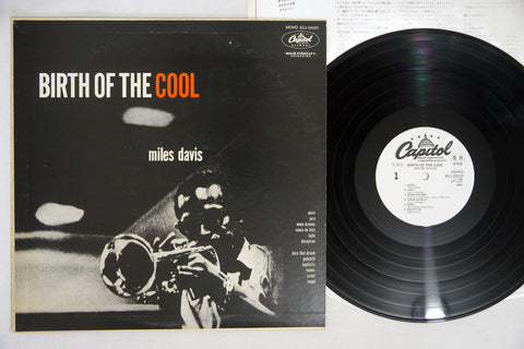 MILES DAVIS - BIRTH OF THE COOL - 180g, 1980 Japanese re-issue, used LP